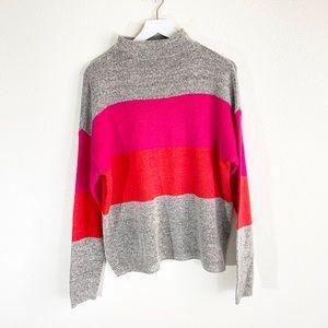 Tribekka 44 Color Block Sweater Size Large